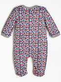 GUESS Love Heart Baby Girls Jumpsuit back view