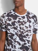 GUESS LEOPARD PRINT TEE image