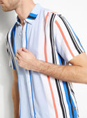 GUESS ECO RIDLEY STRIPED SHIRT image