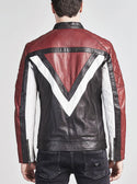 GUESS LEATHER BIKER JACKET image