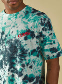GUESS GUESS ORIGINALS TIE-DYE LOGO TEE image