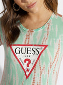 GUESS Eco Tie-Dye Baby Logo Tee image