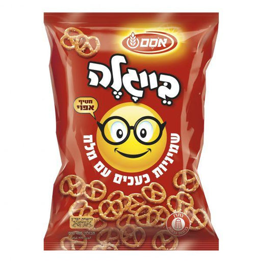 Osem - Pretzel Eight's with Salt - Israel Export Market (4522361323633)