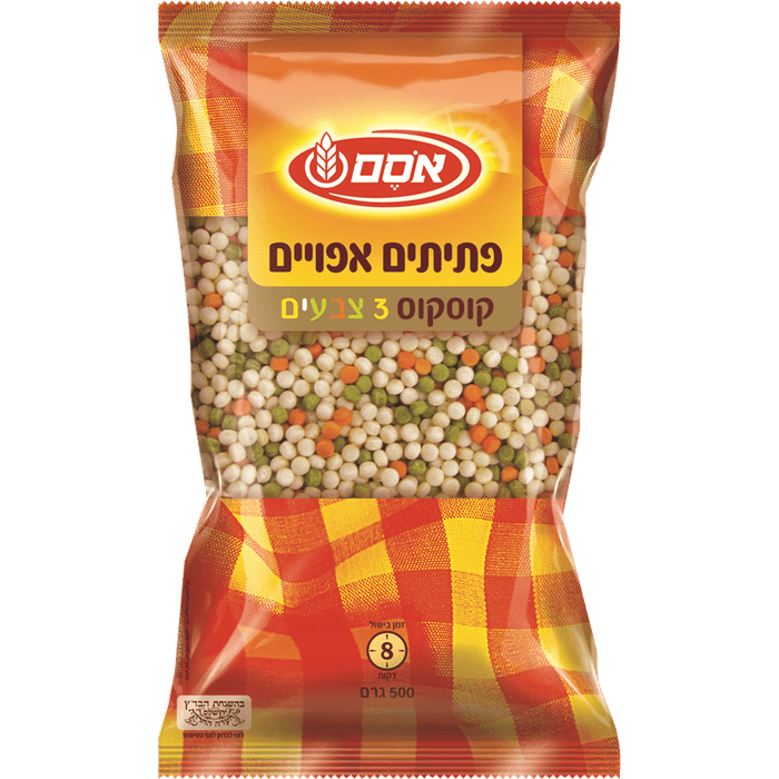 Osem - Baked 3 Color Flakes 500g - Israel Export Market (4530037653617)