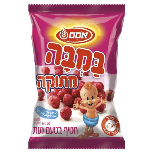 Osem - Bamba Strawberry Snack 30g - Israel Export Market (4520354185329)
