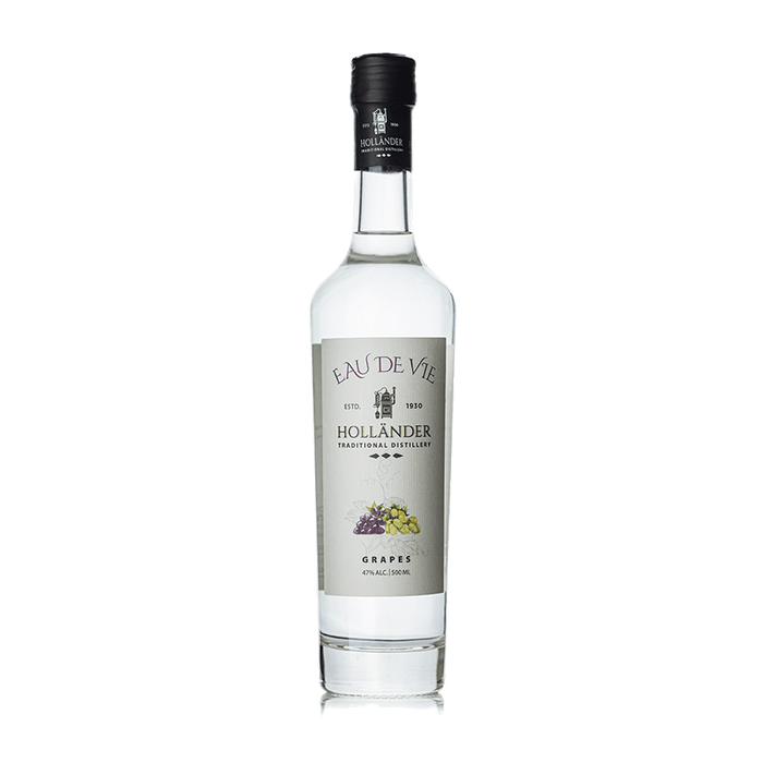 Hollander Distillery - Eau De Vie Grapes 500ml - Israel Export Market (4544228262001)