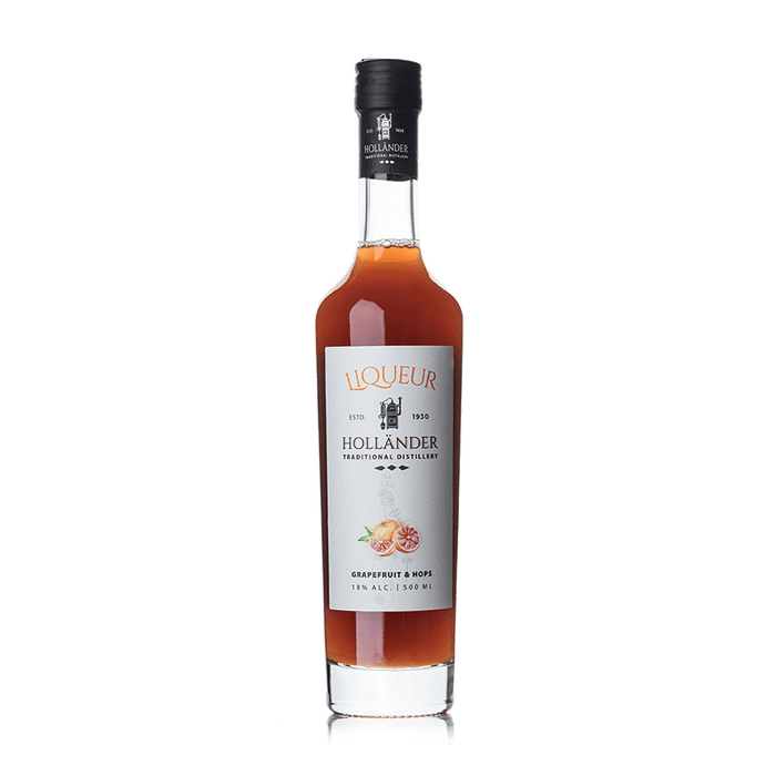 Hollander Distillery - Grapefruit & Hops Liqueur 500ml - Israel Export Market (4544221708401)