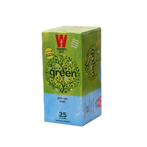 Wissotzky - Green Tea with Mint - Israel Export Market (4530006851697)