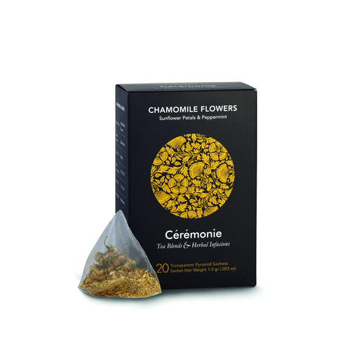 Ceremonie - Chamomile Flowers Tea Sunflower Petals & Peppermint - Israel Export Market (4529983488113)