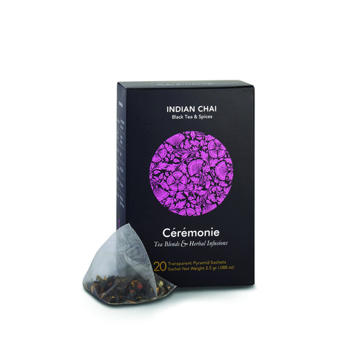 Ceremonie - Indian Chai Pyramid - Black Tea With Spices - Israel Export Market (4530002133105)