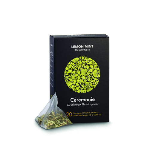 Ceremonie - Lemon Mint Green Tea with Herbs - Israel Export Market (4529984929905)