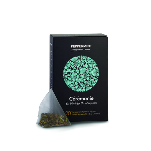 Ceremonie - Peppermint Leaves Caffeine Free Premium Tea - Israel Export Market (4529978802289)