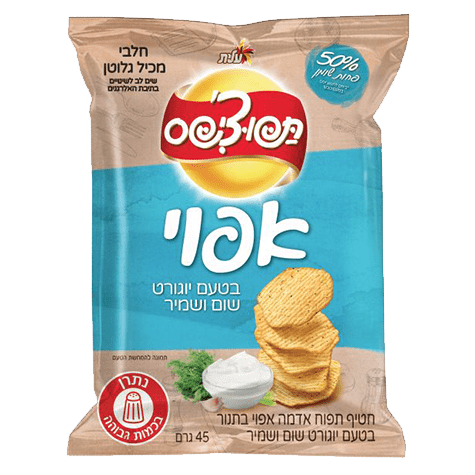 Elite - Tapo-Chips Baked Garlic and Dill Snack 45g - Israel Export Market (4521704226929)