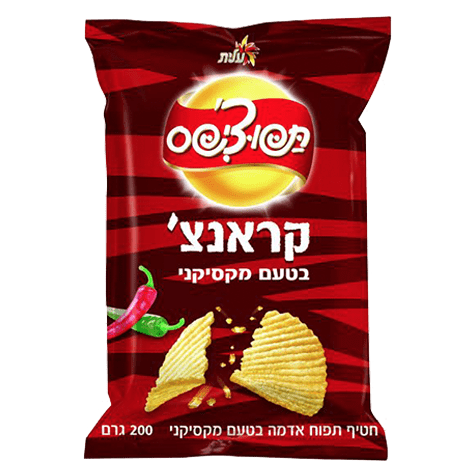 Elite - Tapo-Chips Mexican Crunch Snack 200g - Israel Export Market (4521706750065)