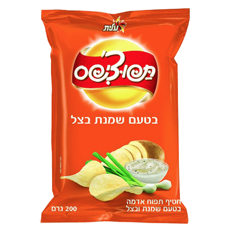 Elite - Tapo-Chips Onion and Cream Snack 200g - Israel Export Market (4521707176049)