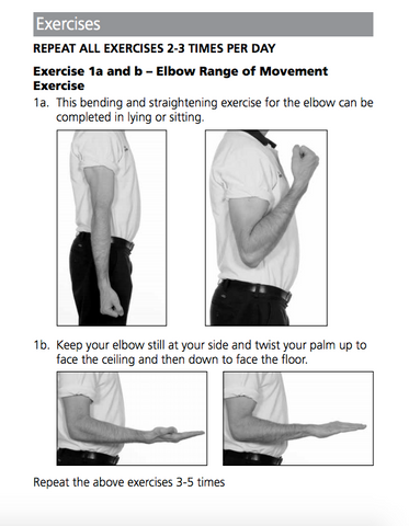 Cubital Tunnel syndrome exercise