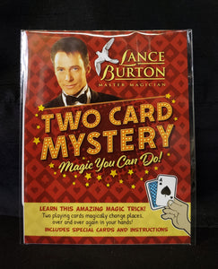 Two Card Mystery Magic Trick