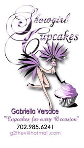 Showgirl Cupcake Bath Set