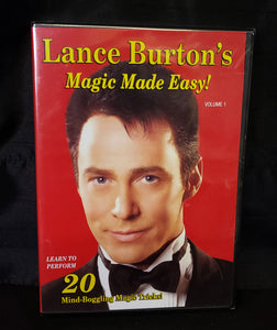 Lance Burton's Magic Made Easy DVD