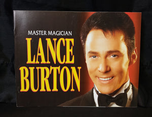 Lance Burton Program Book