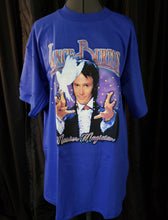 Load image into Gallery viewer, Lance Burton T-shirt, blue