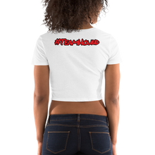Load image into Gallery viewer, Red Logo Women's Crop Tee