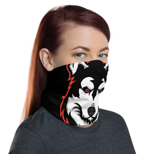 Load image into Gallery viewer, Red Logo Face Mask - Black