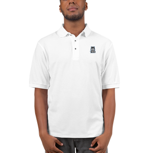 Blue Logo Men's Premium Polo