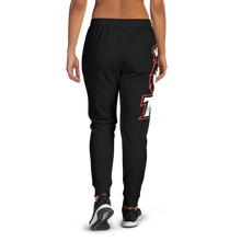 Load image into Gallery viewer, BL/Red Logo Women's Joggers