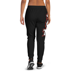 BL/Red Logo Women's Joggers