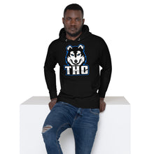 Load image into Gallery viewer, Blue Logo Hoody