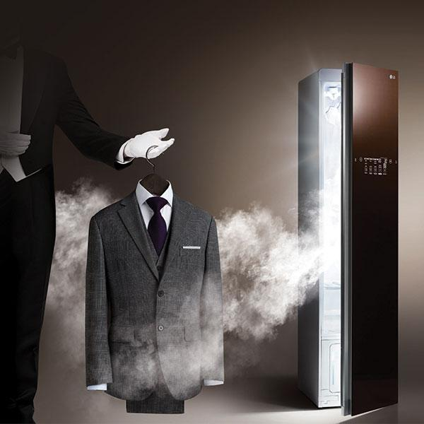 LG Styler - Steam Clothing Care System (Espresso)