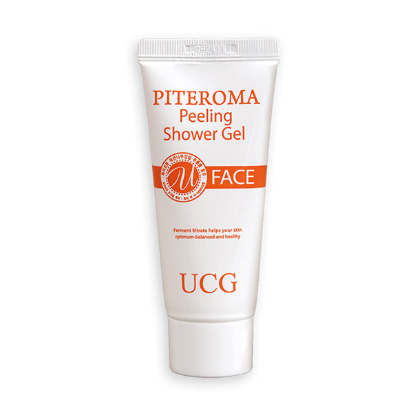 PITEROMA Peeling Shower Gel Set (5pcs)
