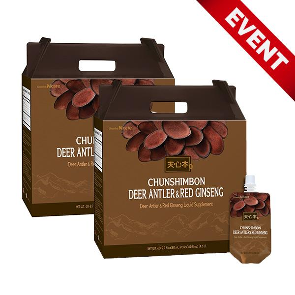 [Event] Deer Antler & Red Ginseng (Buy 2 Get Chun Jin Dan 1 FREE)