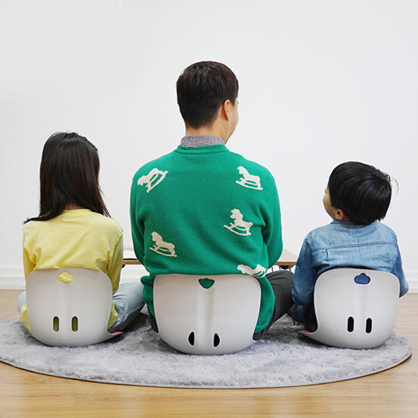 Curble Chair - Kids(iPink)