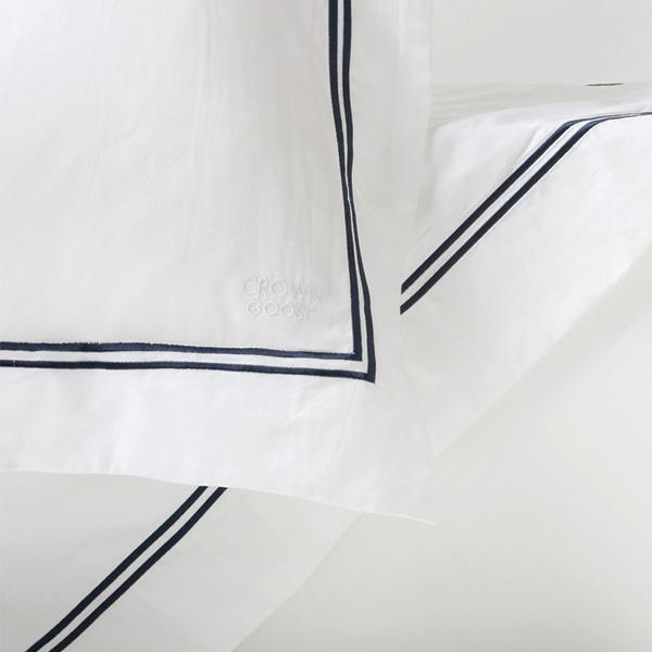Duvet Cover Set Cordon Collection, Navy (TWIN)