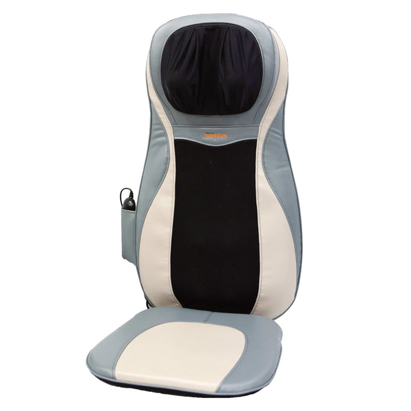 Hueplus HPC-11700 Premium Shiatsu Seated Back & Neck Massager with Heat and Vibration