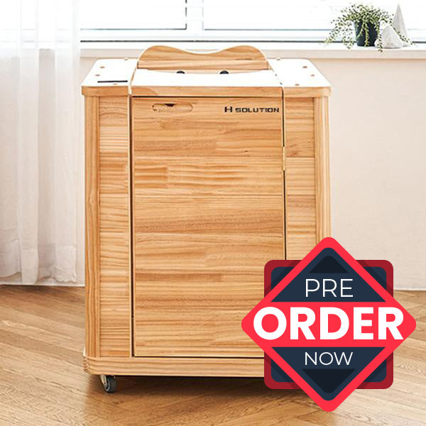 [Pre-Order] H Solution Infrared Half Sauna (2nd Pre-Order Deposit Money $50)