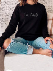 Ew David Long Sleeve Sweatshirts