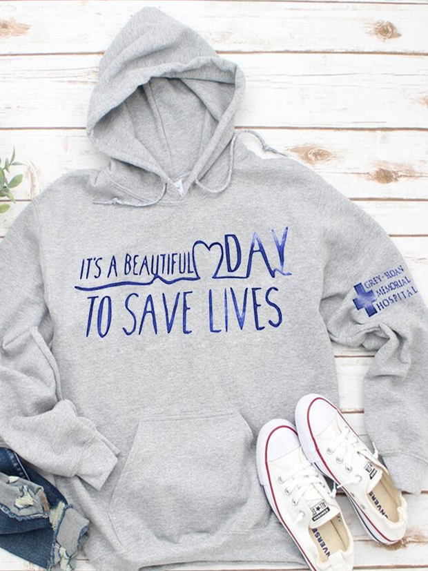 It's A Beautiful Day Hoodie