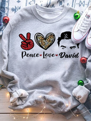 Peace Love David Sweatshirts
