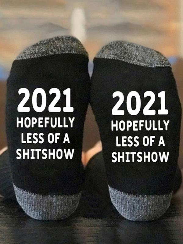 Hopefully Less Of Shitshow Sock