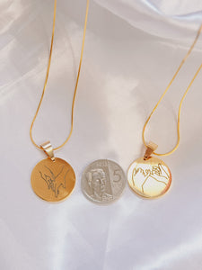 Couple Necklace
