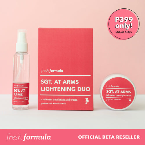 (PRE-ORDER) Fresh Formula Sgt. At Arms Lightening Duo Set