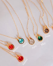 Load image into Gallery viewer, Birthstone Necklaces