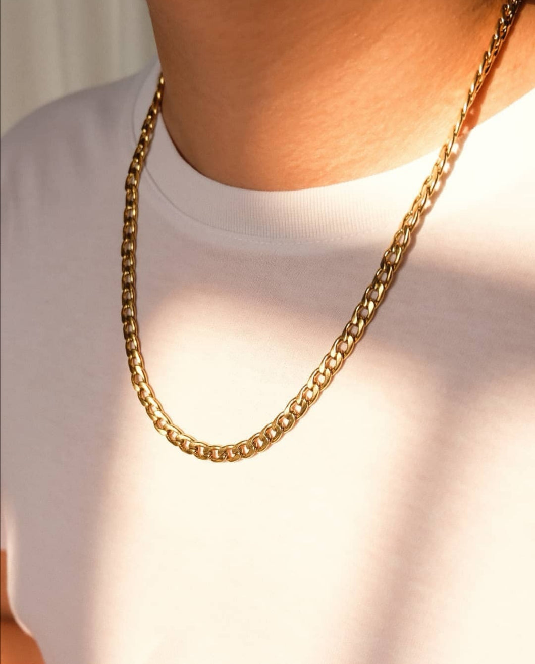 Thick Flat Cuban chain