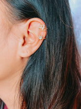 Load image into Gallery viewer, Dove and Diamond Ear Cuff