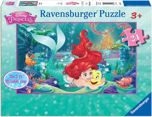 Hugging Ariel 24pc Floor Puzzle
