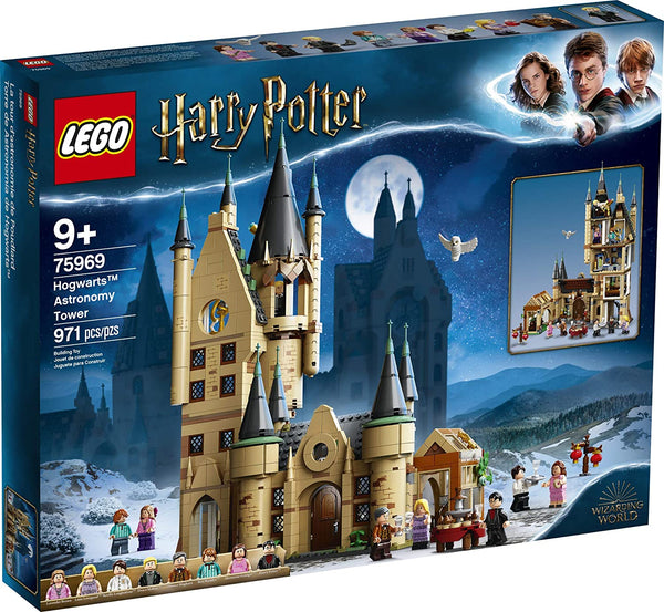Harry Potter Hogwarts Astronomy Tower Lego