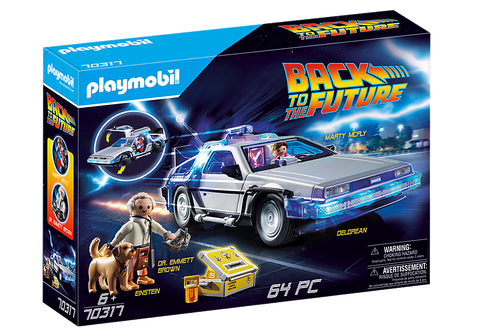Back to the Future DeLorean Car